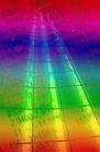 抽象拍摄0090,抽象拍摄,抽象,数字 网格 彩虹