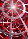 抽象设计0283,抽象设计,抽象,圆圈 中心 射线