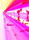 抽象设计0291,抽象设计,抽象,红色 光线  射线