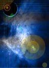 抽象设计0292,抽象设计,抽象,蓝色 光线 反光
