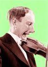 抽象生活0056,抽象生活,抽象,小提琴 演奏 音乐家