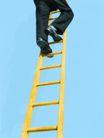 抽象生活0074,抽象生活,抽象,攀爬 黄色 楼梯