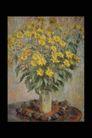 欧洲名画0062,欧洲名画,艺术,细小 黄花 插满