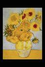 欧洲名画0065,欧洲名画,艺术,葵花 花冠 拥挤