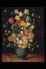 欧洲名画0066,欧洲名画,艺术,缤纷 花枝 插瓶