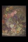 欧洲名画0067,欧洲名画,艺术,花簇 描绘 水墨