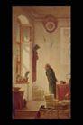 欧洲名画0069,欧洲名画,艺术,祈祷 牧师 低头