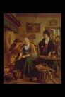 欧洲名画0086,欧洲名画,艺术,家庭 交流 生活