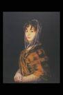 人物油画0060,人物油画,艺术,头部 包裹 丝巾
