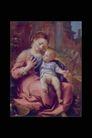人物油画0066,人物油画,艺术,养育 幼儿 母亲