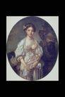 人物油画0067,人物油画,艺术,提起 下身 裙摆
