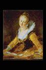 人物油画0068,人物油画,艺术,侧头 肥嫩 脖子