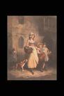 人物油画0084,人物油画,艺术,亲情 关怀 油画