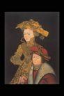 人物油画0093,人物油画,艺术,贵族 姐妹 依靠