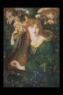 人物油画0101,人物油画,艺术,长发 白肤 绿衣裳