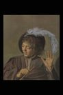 人物油画0104,人物油画,艺术,鹅毛 张开手 手拿笛子