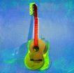 音乐幻想0001,音乐幻想,艺术,吉它 绿色 自然 音乐 灵感