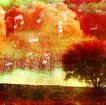 音乐幻想0015,音乐幻想,艺术,平原 孤树 孤独 情怀 乐境