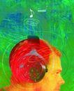音乐幻想0030,音乐幻想,艺术,麦克风 听音乐 头部