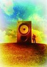 音乐幻想0035,音乐幻想,艺术,音响 天空 家电