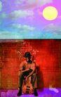 音乐幻想0038,音乐幻想,艺术,太阳 乐器 音乐爱好 者