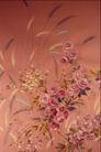 中华刺绣0004,中华刺绣,艺术,芦苇 玫瑰 花丛 淡红 和谐