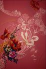 中华刺绣0008,中华刺绣,艺术,花堆 满幅 花叶 五彩 缤纷