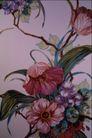中华刺绣0010,中华刺绣,艺术,花藤 大花瓣 枝节 长叶 蔓延