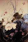 中华刺绣0011,中华刺绣,艺术,花卉 黑色 低纹 泥土 幽雅