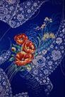 中华刺绣0016,中华刺绣,艺术,刺绣 纹饰 小花 简单 衬托