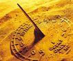 时间金钱0008,时间金钱,商业金融,沙滩 太阳 指示