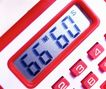 时间金钱0013,时间金钱,商业金融,许算器 红色 显示
