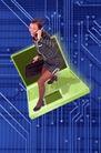 电子艺术0038,电子艺术,科技,笔记本 线路 主板