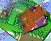 电子艺术0080,电子艺术,科技,密集 电路 印板