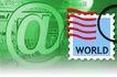 通讯剪影0231,通讯剪影,科技,邮票 英文字 圆圈