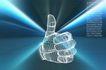 数字模型0064,数字模型,科技,手指 模型 科技