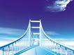科技创意0036,科技创意,科技,蓝天 桥梁 通道
