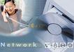合成网络0028,合成网络,科技,光碟 光驱 接电话