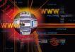 合成网络0029,合成网络,科技,球体 字母 互联网