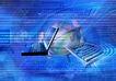 合成网络0038,合成网络,科技,键盘 球体 网络世界