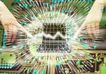 合成网络0040,合成网络,科技,光线 电波 生物电