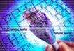 合成网络0043,合成网络,科技,键盘 网址 插头