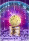 合成网络0046,合成网络,科技,硬币 钞票 箭头