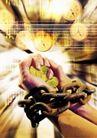合成网络0057,合成网络,科技,硬币 钟 铁链