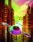 科幻世界0072,科幻世界,科技,飞船 穿行 楼宇