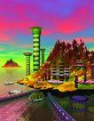 科幻世界0100,科幻世界,科技,海洋 房屋 海中