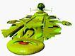 科幻世界0105,科幻世界,科技,绿色 外星人 飞行器