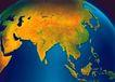星球俯视0069,星球俯视,科技,地球仪 地图 教具