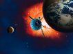 星球俯视0070,星球俯视,科技,绕日 卫星 信号