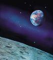 星球俯视0086,星球俯视,科技,光体 俯视 星球